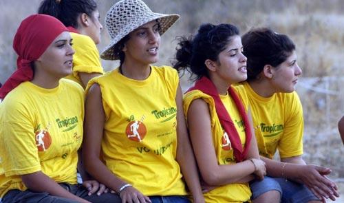 مشاركات في «الرحيل» الكشفي الذي نظمه مخيم كشافة التربية الوطنية في سهل الميذنة ـ النبطية لاكتشاف قرى المنطقة (كامل جابر)