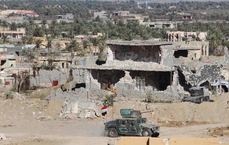 """لم ينفِ العراق موافقته سابقاً على وجود أتراك يقومون بتدريب قوات محلية هي """"الحشد الوطني"""""""
