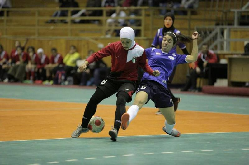 احرزت سيدات AUST المركز الثالث اواخر الشهر الماضي في البطولة العربية للجامعات التي اقيمت في الاردن