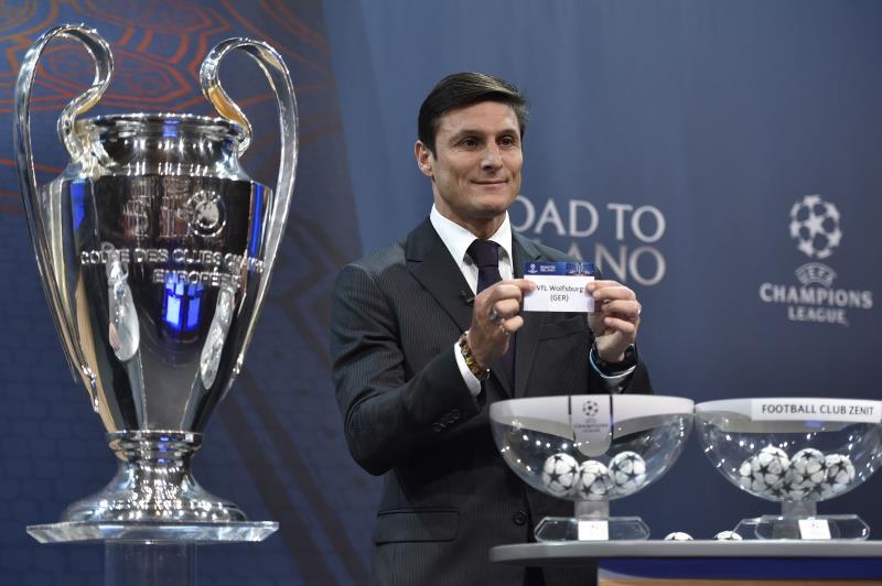 زانيتي يسحب اسم ريال مدريد (أ ف ب)