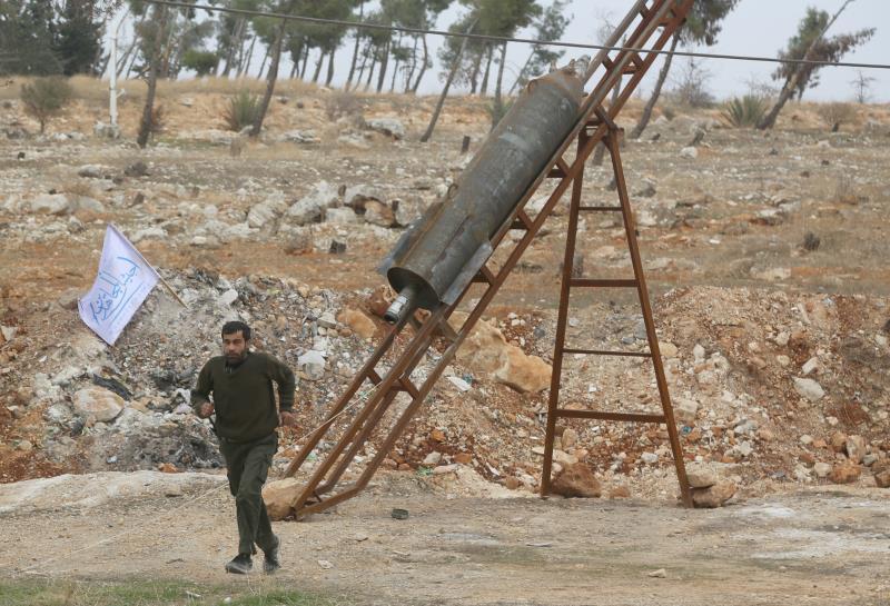 عنصر من «جيش المجاهدين» في ريف حلب الجنوبي