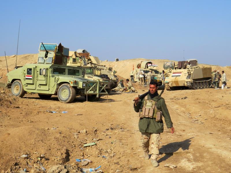 اعتبر وزير الدفاع الأميركي مقتل الجنود العراقيين خطأ يتحمله الطرفان