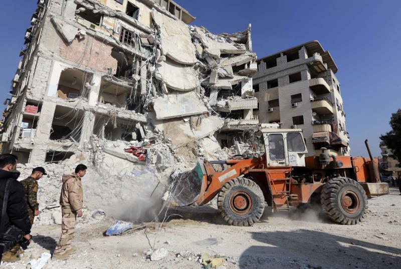 المبنى الذي استشهد فيه القنطار ورفاقه