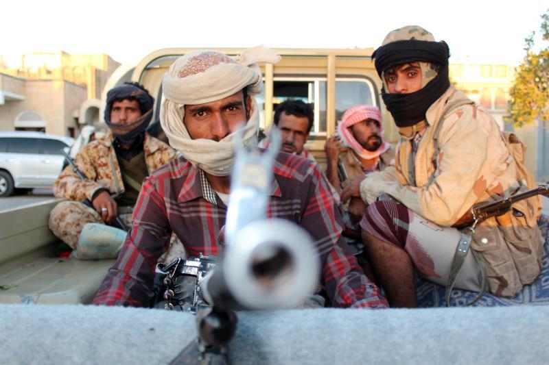 """لا يزال الجيش و""""اللجان الشعبية"""" يسيطرون على المناطق الاستراتيجية في الجوف"""
