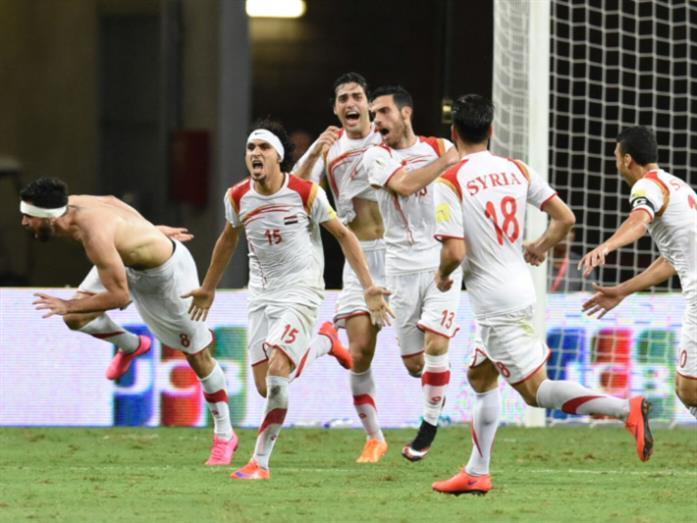 منتخب سوريا لكرة القدم: بطل من هذا الزمان!