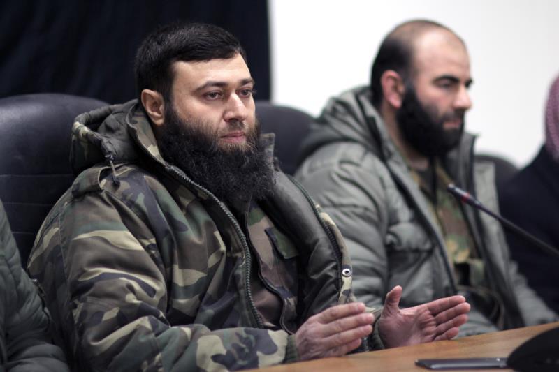 قائد جيش الاسلام الجديد عصام بويضاني