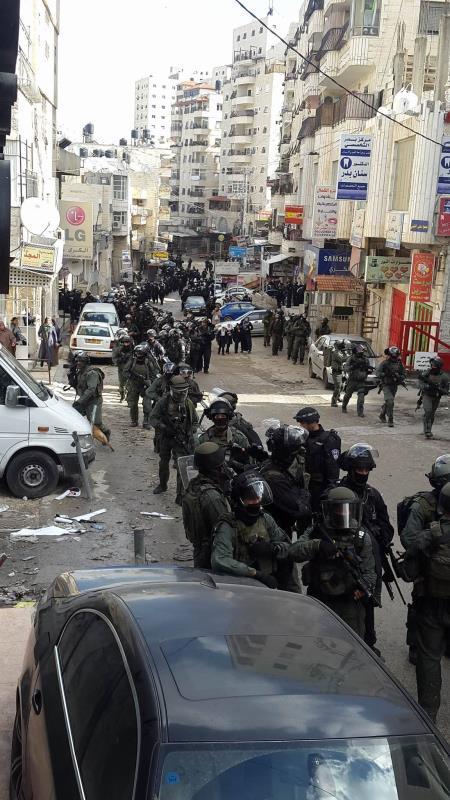أغلق 1200 جندي اسرائيلي مداخل المخيم (رمزي غنايم)