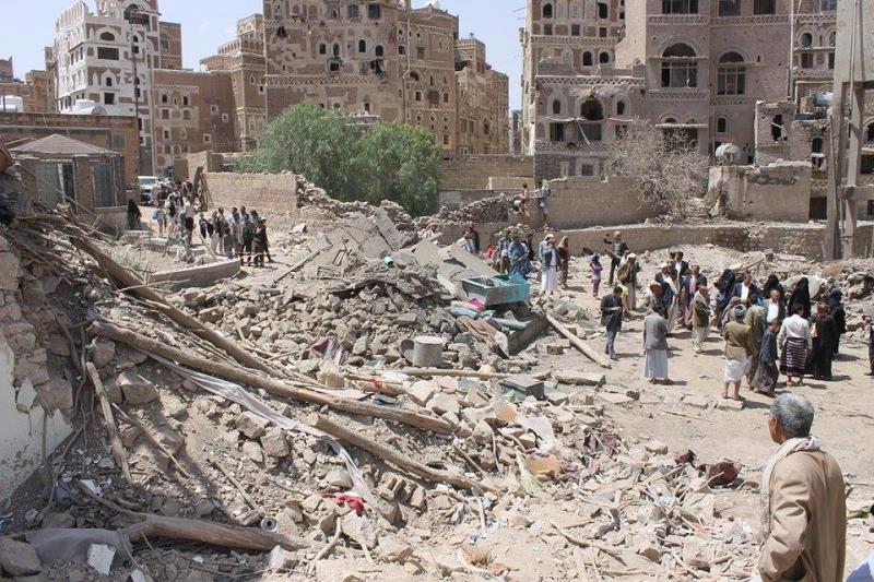 اليمنيون مصرون على إعادة إعمار ما تهدم حتى قبل انتهاء العدوان