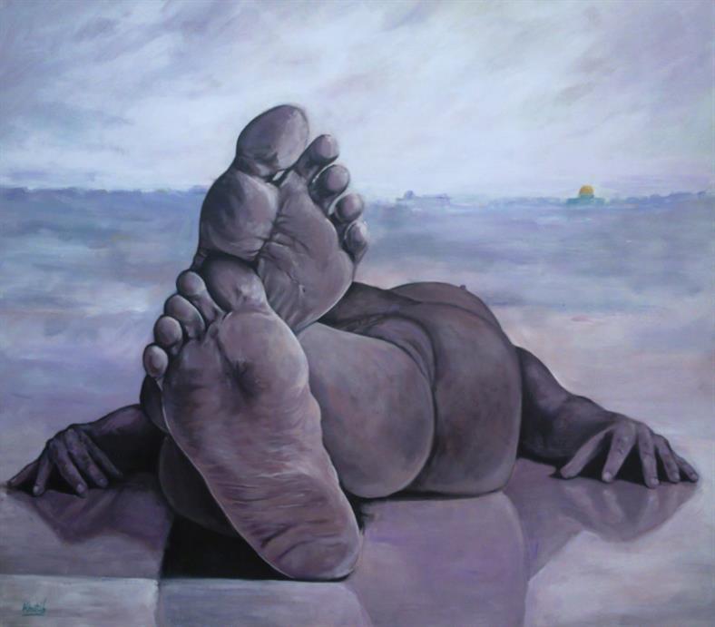 للفنان الفلسطيني عماد الوهيبي
