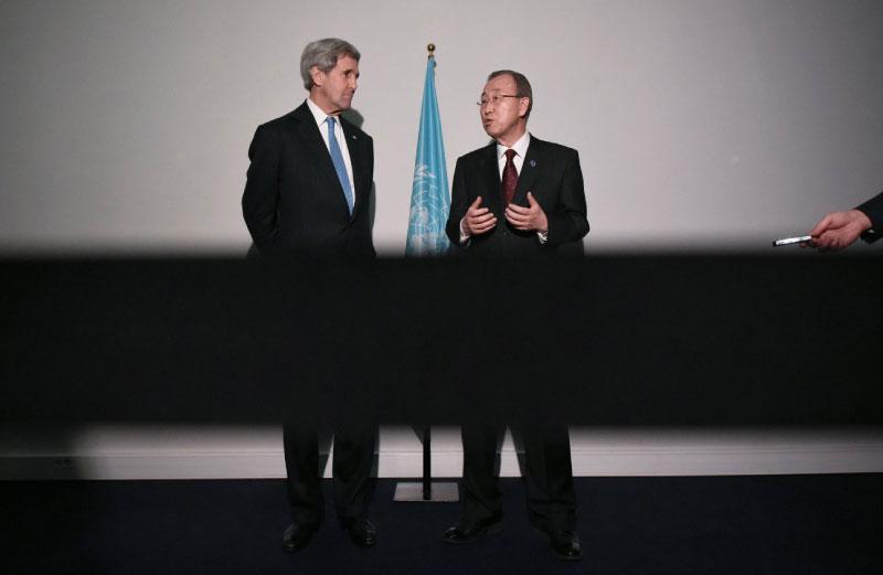 كيري: اجتماع نيويورك مرتبط بنتائج مؤتمر الرياض