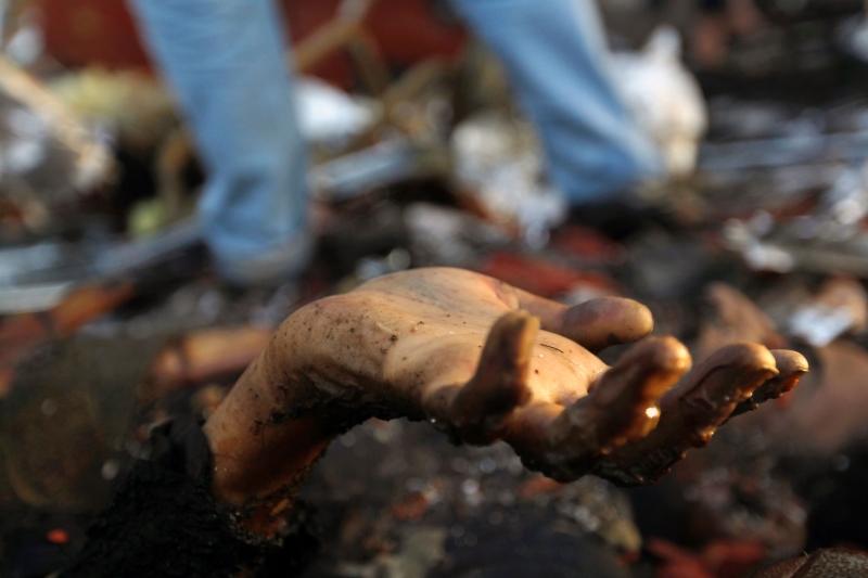 صنعاء: ما بعد مجزرة الصالة الكبرى لن يكون كما قبلها (أ ف ب)