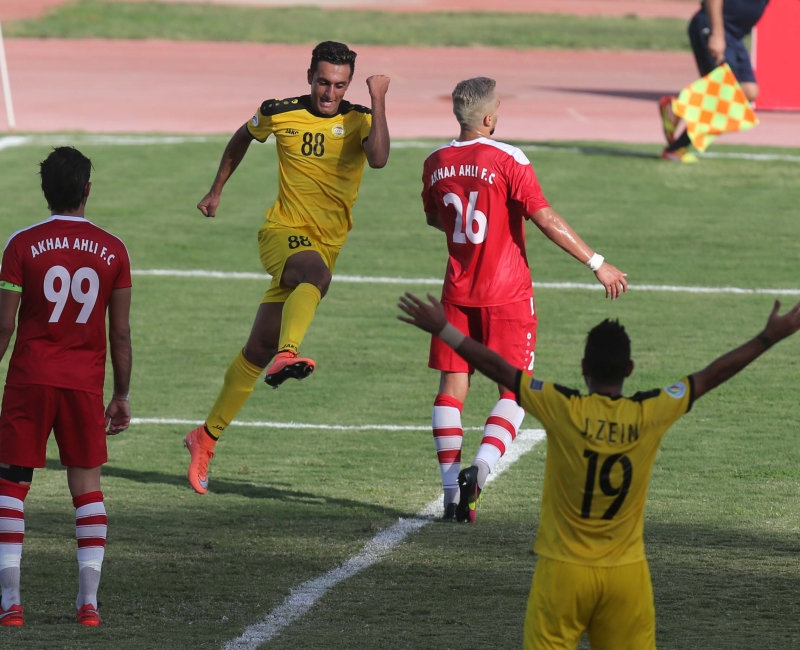 سجّل البديلان محمد قدوح (88) هدفين للعهد وجاد الزين (19) هدفاً للعهد (عدنان الحاج علي)