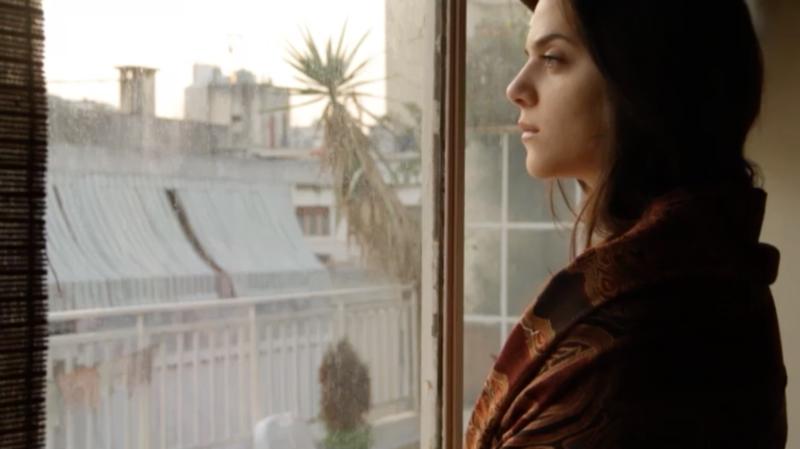 ناتاشا شوفاني في مشهد من العمل