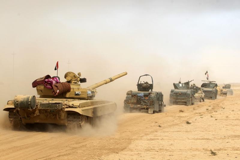 تمكنت القوات المشتركة من الوصول إلى مناطق في المحور الجنوبي الشرقي لنينوى
