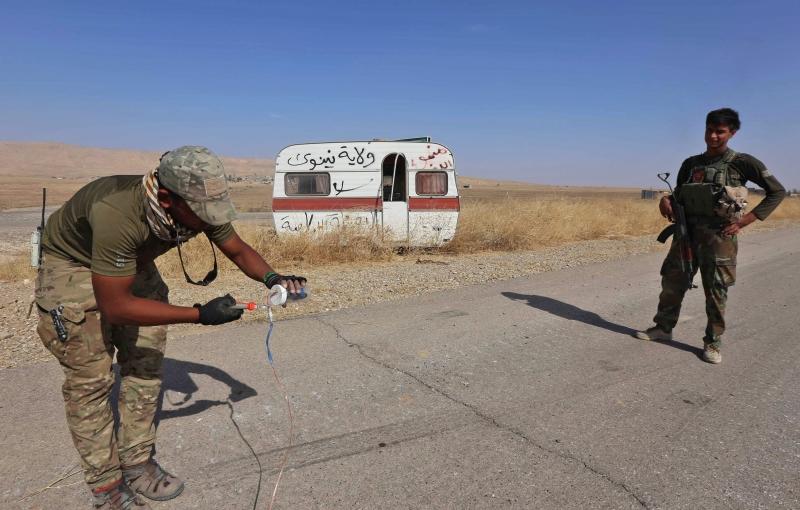 تشعر إيران بأنّ معركة الموصل ستفلت من تأثيراتها (أ ف ب)