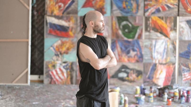 الفنان في الغاليري