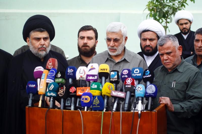 نقلت مصادر موقف الصدر الرافض دخول «الحشد» إلى الموصل (أ ف ب)