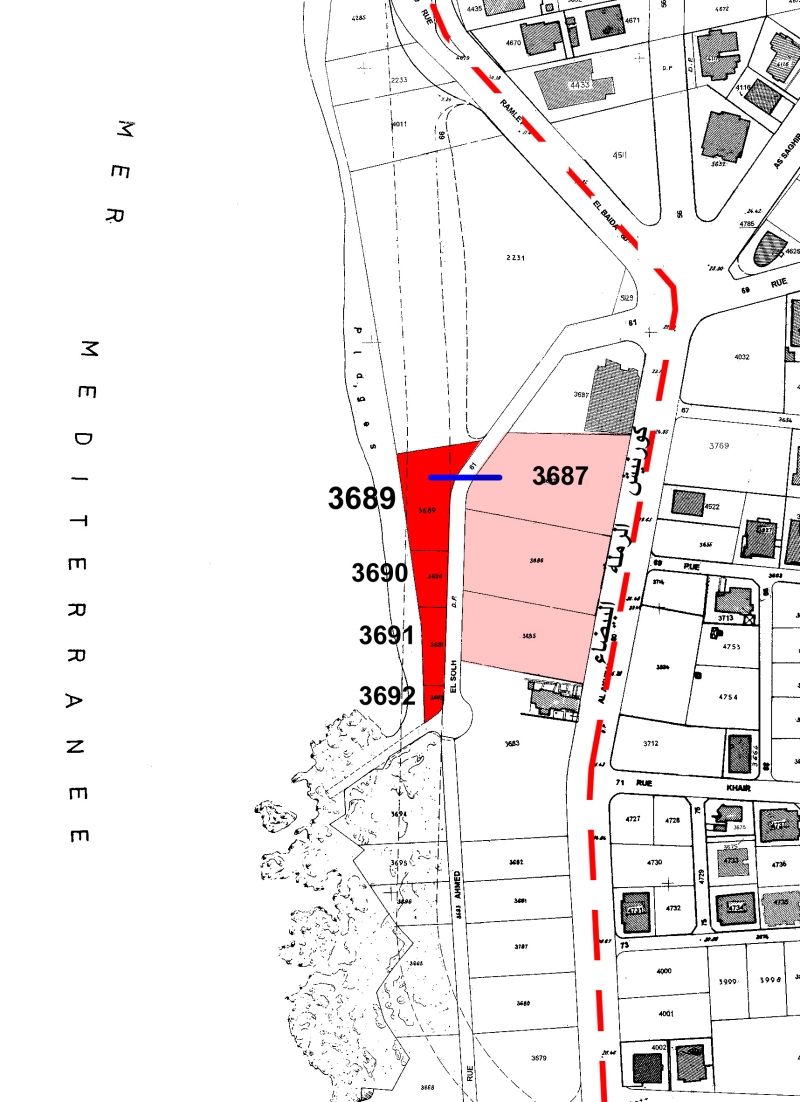 الخريطة رقم 1 عقارات الايدن روك حاليا