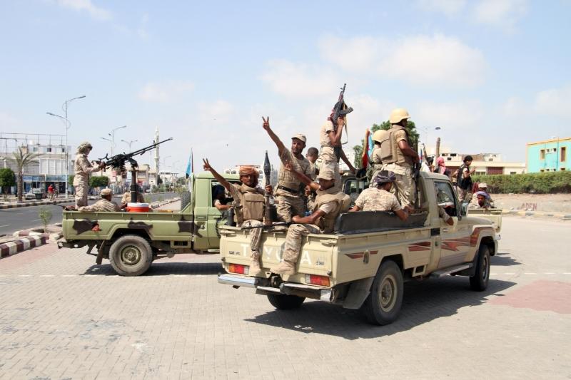 شهدت منطقة البقع عمليات انتحارية من قبل المجموعات الموالية لهادي (أ ف ب)
