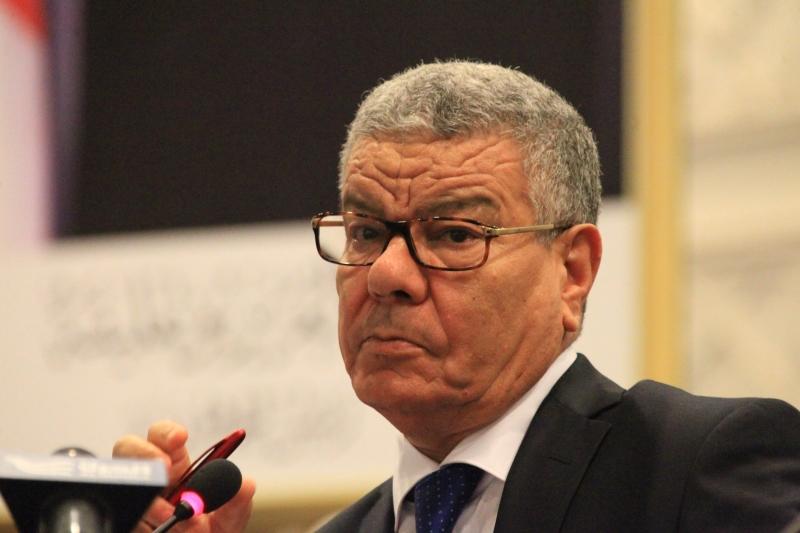 """جاءت استقالة سعداني خلال اجتماع عادي للجنة """"الجبهة"""" المركزية (الأناضول)"""
