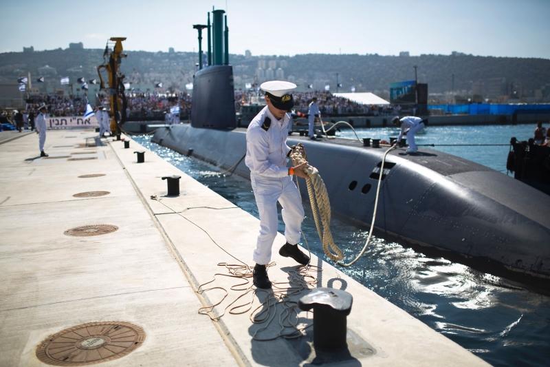 تضيف الغواصات قدرة على المناورة الاستراتيجية وتأمين خيار الضربة الثانية (أ ف ب )
