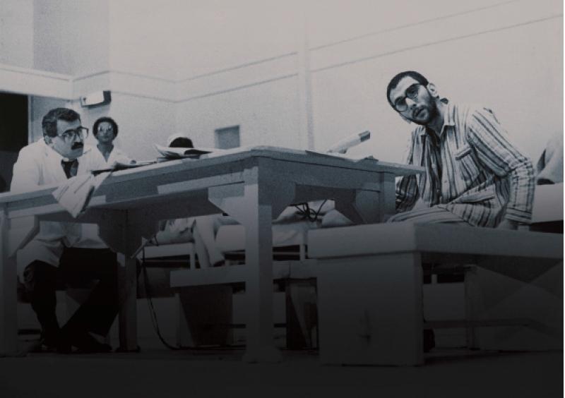 زياد الرحباني وبيار جمجيان في مشهد من العمل