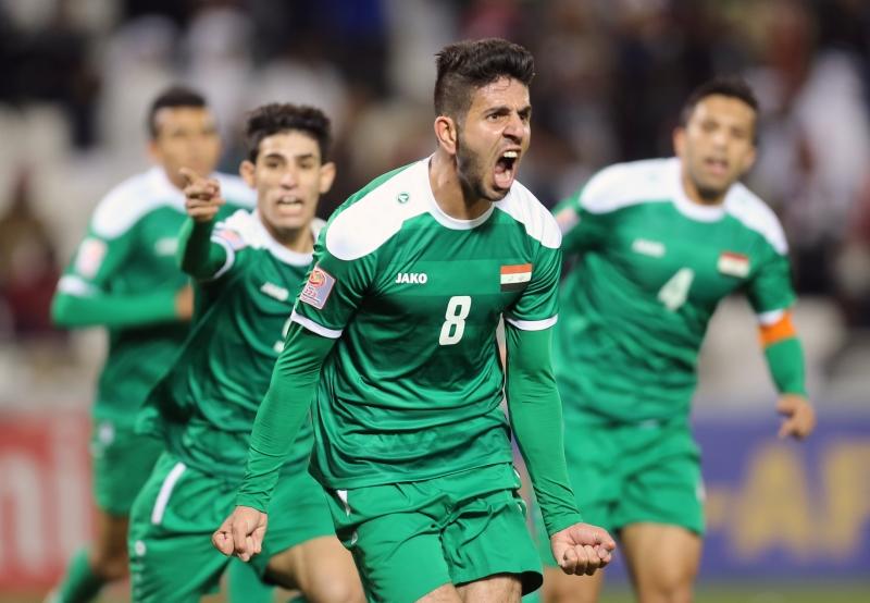 يبدو العراقيون تحت الضغوط قبل مواجهة اليابان (أرشيف)