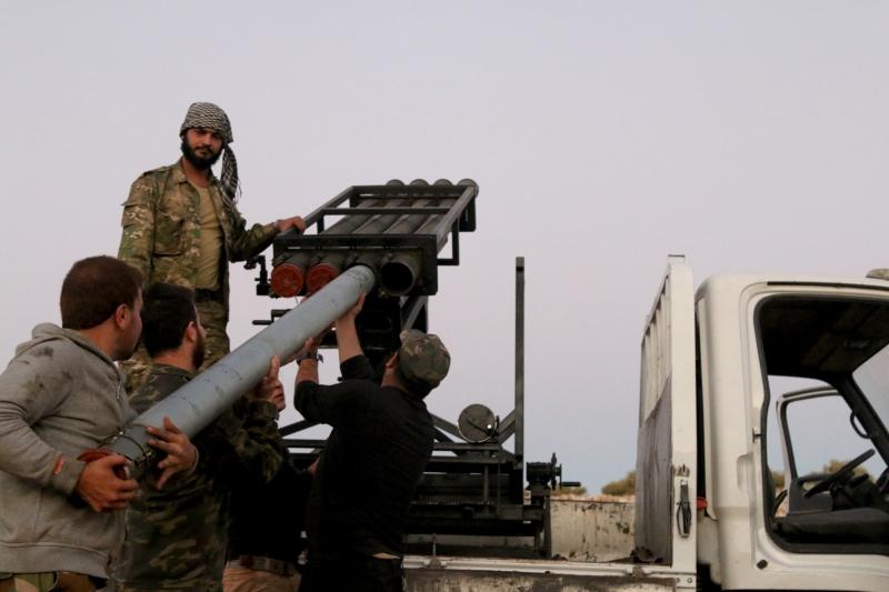 التحوّلات التركية لم تصل إلى حدّ قطع التعاون مع المجموعات المسلّحة في حلب ومحيطها (الأناضول)