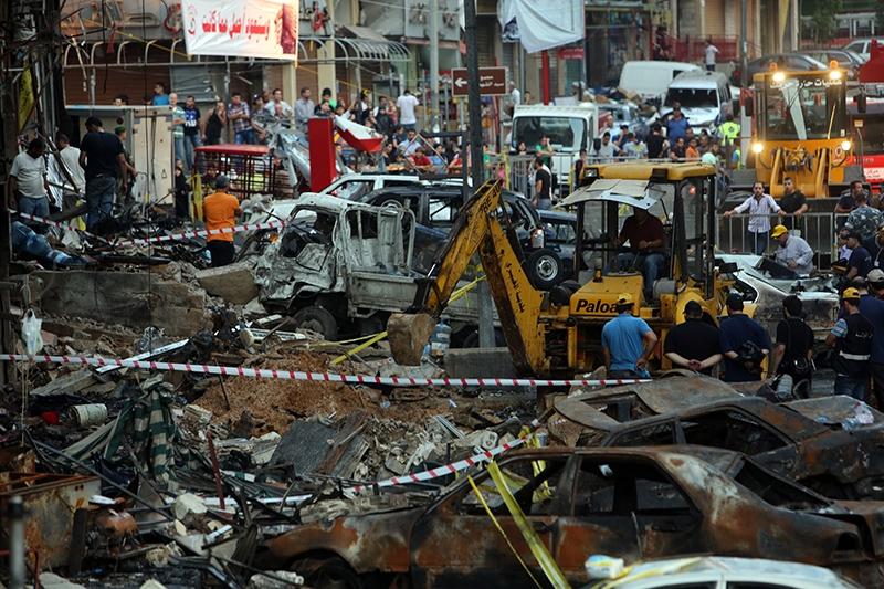 بعد تفجير الرويس في تشرين الثاني 2015 (مروان طحطح)