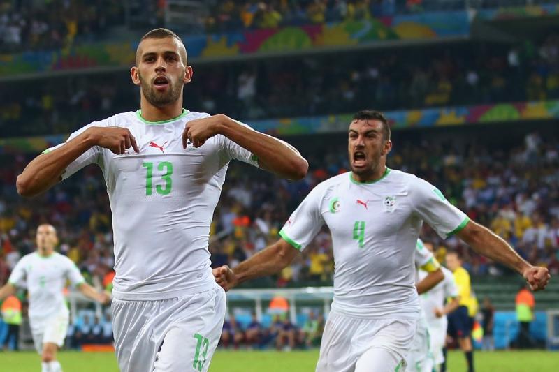 تعتمد الجزائر على نجومها المتألقين اوروبياً في سعيها لبلوغ المونديال (أرشيف)
