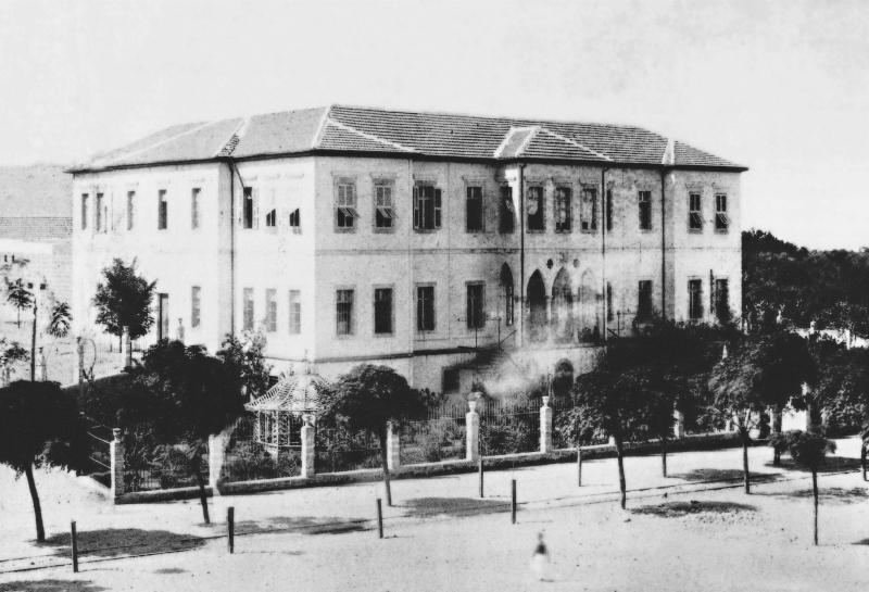 السراي العثماني في طرابلس (ارشيف)