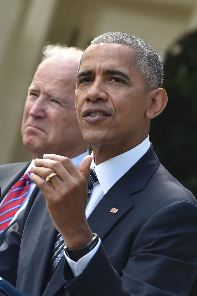 """يعدّ سعي أوباما إلى إلحاق """"النصرة"""" بـ""""المعارضة المعتدلة"""" تطوراً دراماتيكياً في مقاربة إدارته، مبنيّاً على فوز دونالد ترامب بالرئاسة (أ ف ب)"""