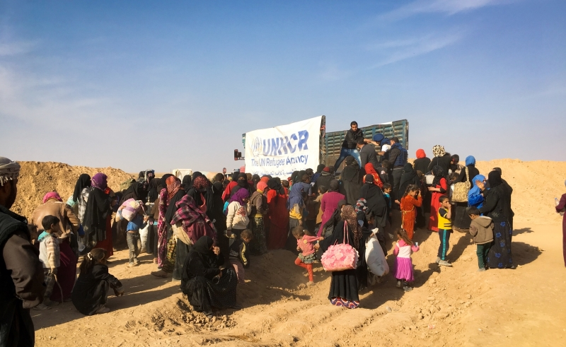 يبدو دور الحكومة السوريّة في هذا الملف ثانويّاً بفعل الأمر الواقع (مفوضية اللاجئين)