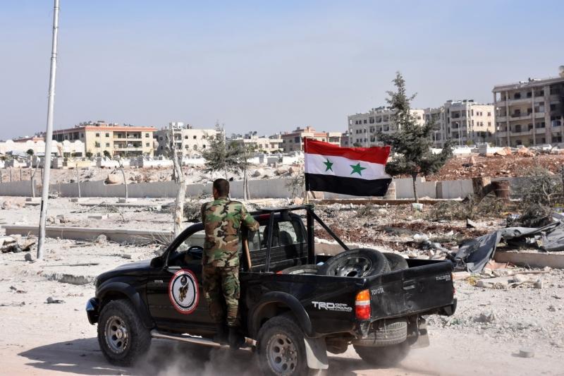 منح الجيش مهلة أخيرة لمسلحي الأحياء الشرقية قبل «فتح أبواب الجحيم» (أ ف ب)