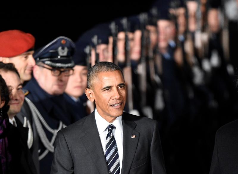 أوباما: يعدّ حلف شمال الأطلسي أعظم حلف في العالم (أ ف ب)