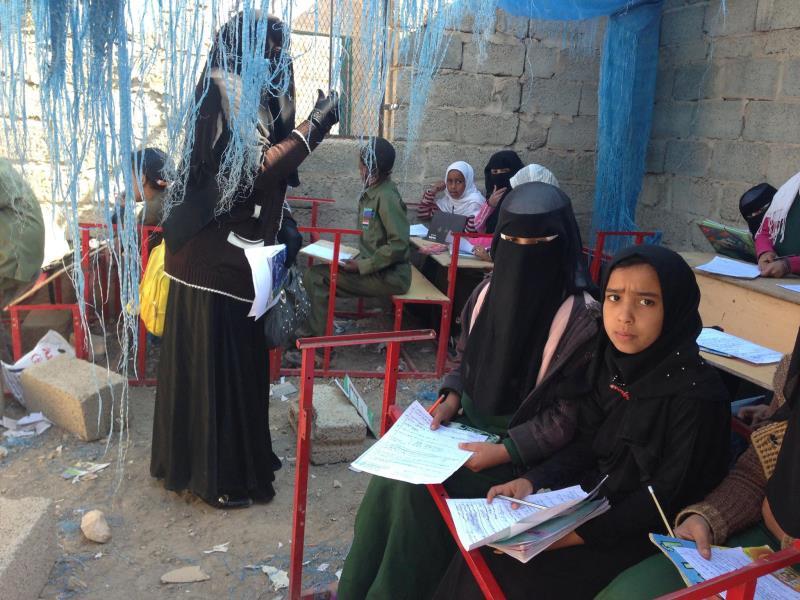 استهدف طيران العدو المعاهد في 15 محافظة من أصل 22 محافظة