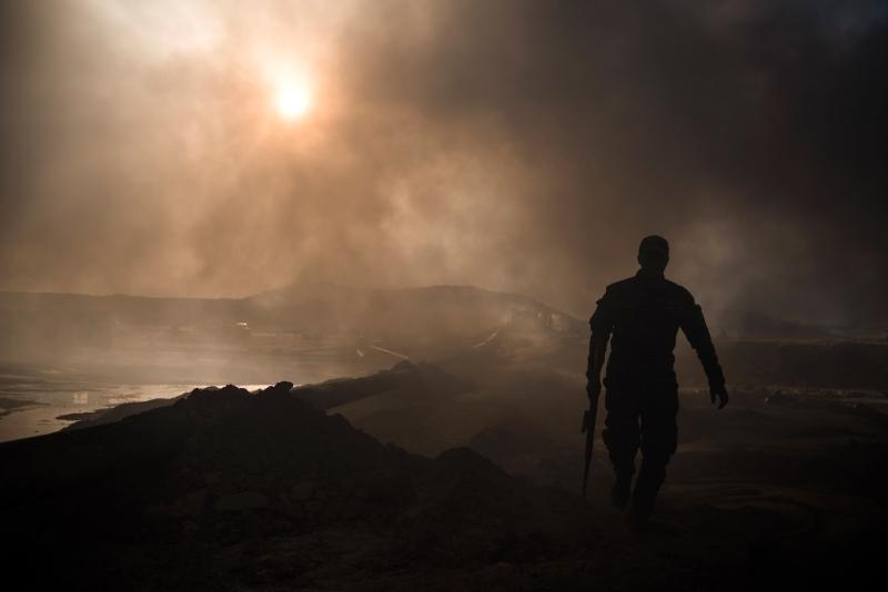 عملية استعادة تلعفر مرهونة بتطهير الجيش العراقي للأحياء الشرقية الموصلية (أ ف ب)