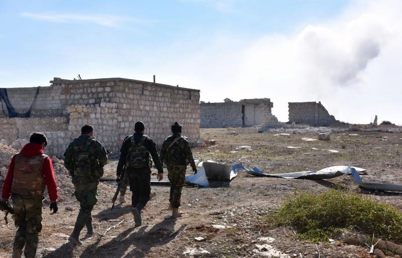 ساهمت المقاومة على نحو كبير في إدارة الهجوم المضاد على تخوم المدينة (أ ف ب)
