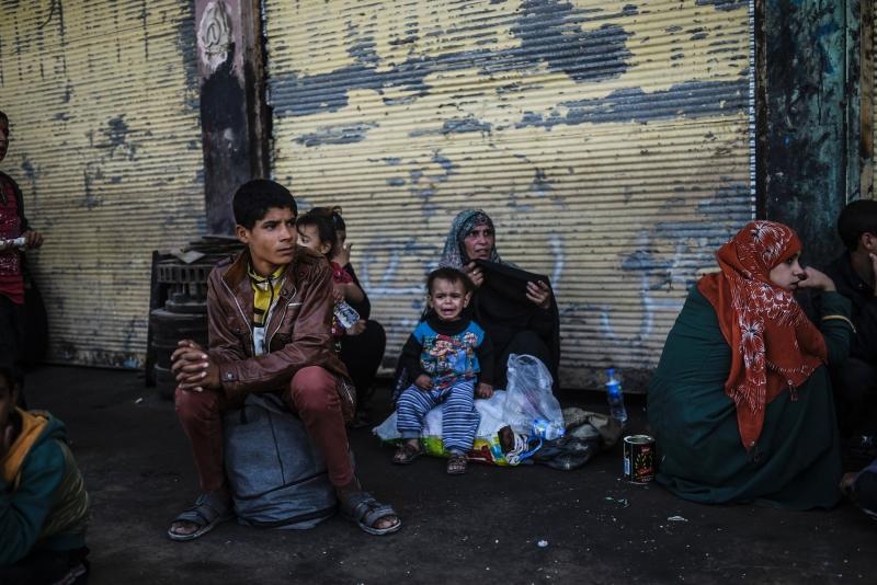 رفضت أربيل استقبال 500 عائلة نازحة من الموصل (أ ف ب)