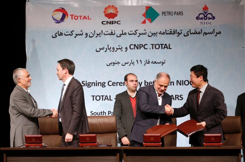 تريد إيران رفع مستوى الإنتاج النفطي إلى 4.8 ملايين برميل يومياً (أ ف ب)