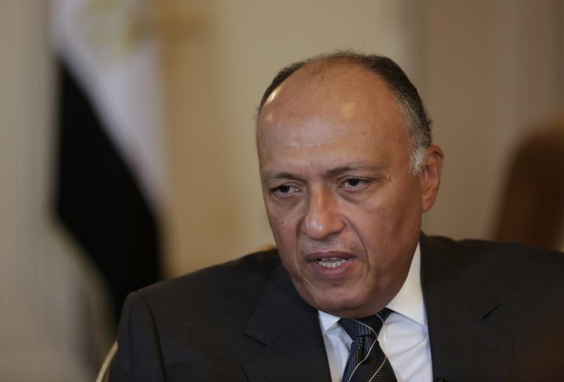 شكري: مشاركة مصر في التحالف الإسلامي مرتبطة بنهج الدولة المصرية في محاربة الإرهاب