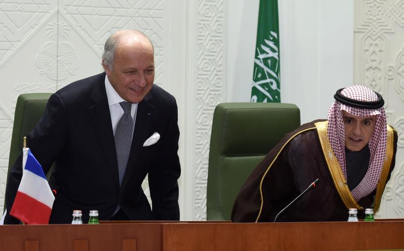 بحث الجبير وفابيوس مساعي الانتقال السياسي في سوريا ودور إيران في المنطقة