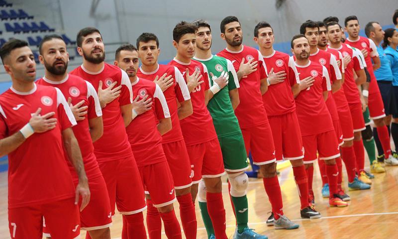 لاعبو منتخب لبنان