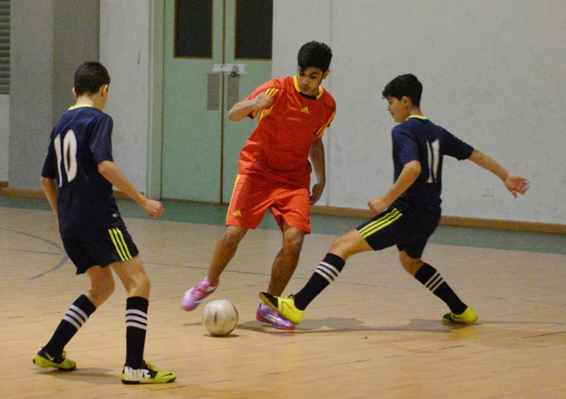 من مباريات كرة السلة وكرة الصالات وكرة اليد في بيروت