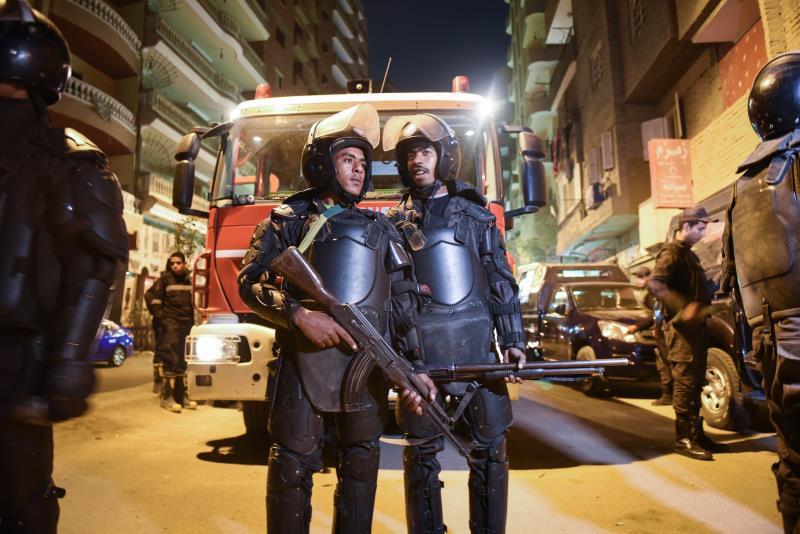 تعرّض جهاز الشرطة لهجمات عدة في السنوات الأخيرة