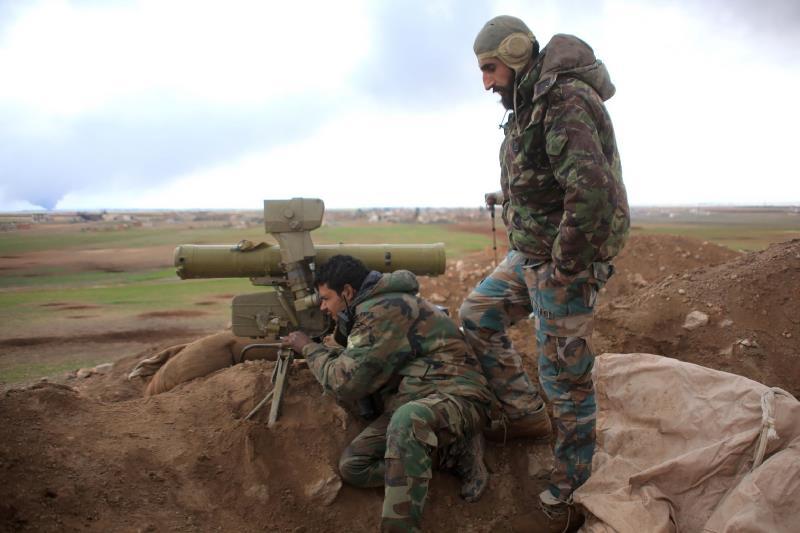 سيطر الجيش السوري على بلدة ربيعة الاستراتيجية ليقترب من اعلان محافظة اللاذقية آمنة