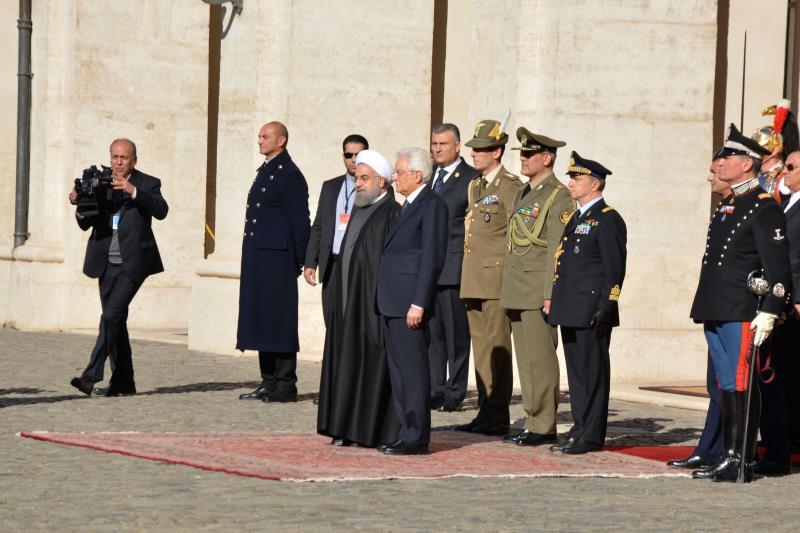 أكد روحاني أن تنمیة العلاقات مع دول الاتحاد الأوروبي من سیاسات طهران
