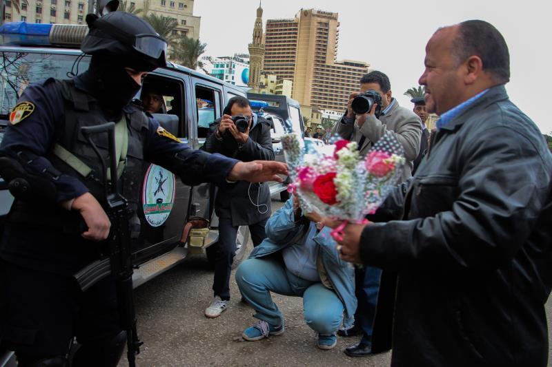 كان وزير الأوقاف قد أصدر فتوى بأن «التظاهر فى ذكرى الثورة حرام»