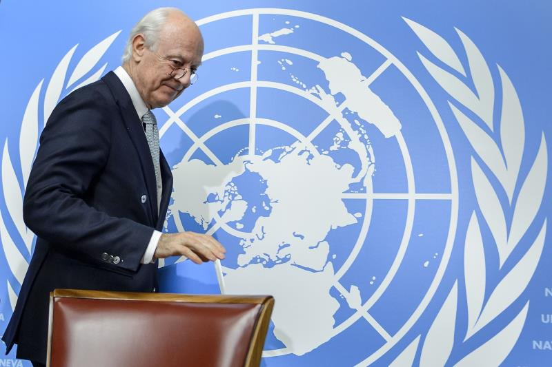 دي ميستورا: أنا مخوّل بدعوة أكبر طيف ممكن من المعارضة السورية