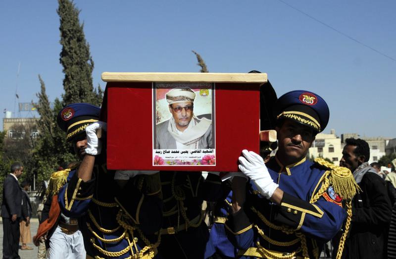 سجل «التحالف» مجزرةً جديدة في صنعاء حيث قتلت غارة القاضي اليمني يحيى محمد ربيد مع سبعة أفراد من أسرته